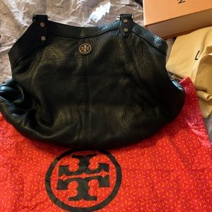 Authentic Tory Burch black hobo bag